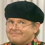 Benny as Mr. Fred Scuttle in 'Fred Scuttle: Thames Television Producer'