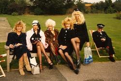 Left to Right: Zoe Bryant, Lorraine Doyle, Vicky Facey, Sue Upton, Carla De Wansey and Jon Jon Keefe.